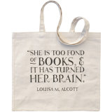 Promotional Shopping 100% Cotton Tote Canvas Bag