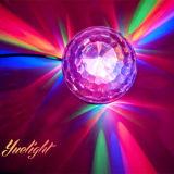 Hot 2015 RGB LED Solar Crystal Magic Ball Light/DJ Lights