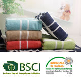 100% Cotton Soft Y/D Stripe Bath Towel Beach Towel