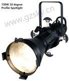750W 10 Degree Profile Spotlight Ellipsoidal Leko Light Theater Light