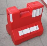 Red and White Construction Road Barrier