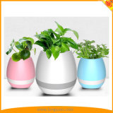 Music-Folower-Pot Wireless Bluetooth Speaker with LED Light