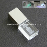 2d 3D Engraving Crystal / Acrylic USB Flash Memory 2GB / 4GB / 8GB (M12)