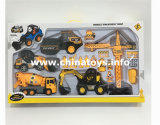 Promotion Gift Toys Friction Construction Car Set (983405)