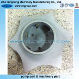 Titanium Pump Impeller for ANSI Chemical Goulds and Durco Pump Parts
