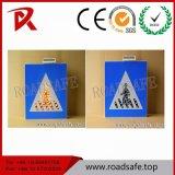 Roadsafe Solar Blink Light Aluminum Symbols Flashing Traffic Reflective Signs