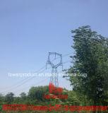 Megatro 500kv Transmission Line Dfz1 Cat Head Type Suspension Tower