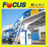 50~60cbm/H Automatic Mobile Concrete Mixing Plant, Portable Concrete Mixing Plant