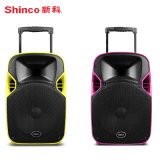 2017 New Product Projection Speaker with Trolley FM Radio Bluetooth USB/SD