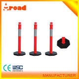 Factory Directly Sale Rubber Black Base Delineator Post