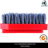 Rectangle Shape Steel Wire Diamond Frankfurt Abrasive Brush