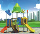 2015 Hot Selling Outdoor Playground Slide with GS and TUV Certificate (QQ14027-2)