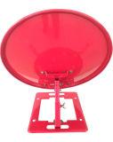 Ku35cm Offset Outdoor Satellite TV Dish Antenna with Square Base