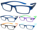 Fashionable Lady Reading Glasses, Plastic Lady Reading Glasses (RP474001-1A)