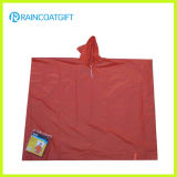PE Rain Poncho for One Time Use Portable Raincoat Rpe-047