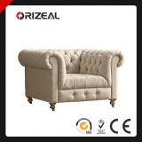 Cambridge Tufted Upholstered Club Chair (OZ-CC-029)