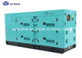 Rate Output 180kVA Silent Diesel Generator Set Powered by Perkins