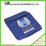 Cotton Wristbands Sweatbands with Zipper Pocket (EP-AB526)