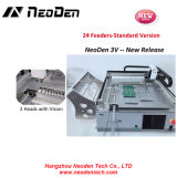 Hot Sell SMD Pick and Place Machine/SMT Pick and Place Machine 220V, 2 Heads with Vision Neoden3V-24 Feeders