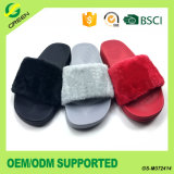 Suede Slippers Lady Fashion Sandals Slid Strap Slipper