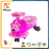 Hot Sale New PP Plastic Baby Swing Car with Pulling Rope From China