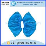 Disposable Plastic Waterproof Shoe Cover (WM-SC150121)