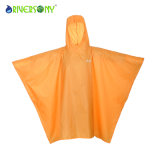 Yellow PU Pouch Rainwear