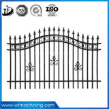 OEM Power Coated Castings Wrought Iron Garden Fence for Moder Housing Fashion Decoration