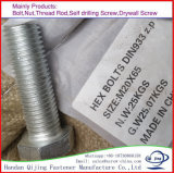 High Strength DIN931 Fastener Hex. Head Bolt