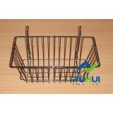 Shop Hanging Steel Wire Slatwall Pegboard Basket (PHH116A)
