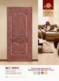 Molded MDF Door Skin with Wood Veneer- (ZY-801)