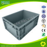Grey Plastic Mold Turnover Box for Packing and Transport