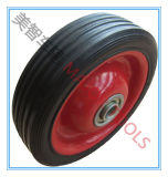 Full Range Sizes Solid Rubber Wheel with RoHS Certificate