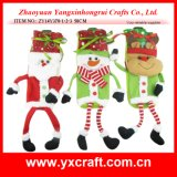 Christmas Decoration (ZY14Y378-1-2-3) Cookie Container Funny Christmas Decoration Wine Bag