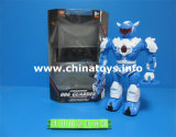 Electrical Battery Operated Plastic Robot Toy (1002303)