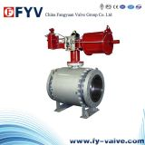 Pneumatic Cast Steel Trunnion Ball Valve