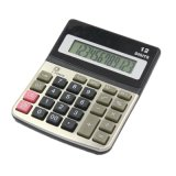 12 Digit Electronic Calculatory Calculator Office Finance Suuply