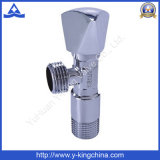 Manual Chromed Plated Brass Angle Valve for Washing Machine (YD-5009)