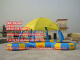 Inflatable Pool with Tent (POOL-210)