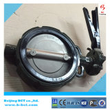 DK WAFER BUTTERFLY VALVE WITH HANDLE OR GEAR WORM BCT-DKD71X-4