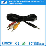 DC 3.5mm to 3RCA Cable RCA Cable with Audio Jack Connector