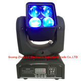 4 * 10W RGBW 4in1 LED Moving Head Zoom Light