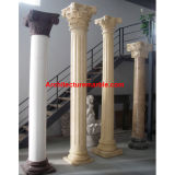 Marble / Granite Columns, Stone Column and Pillar In Travertine