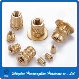 High Precise Customized Knurled Brass Nuts