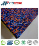Colorful EPDM Particles and Single Component Glue Mixed Elastic Laminated Flooring
