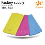 Three Colors 5000mAh Portable Power Bank Phone Charger