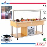 Good Quality 5 Pans Refrigerated Salad Bar