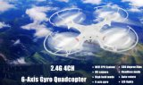 147898001c- 2.4G 4CH 6-Axis Gyro Quadcopter