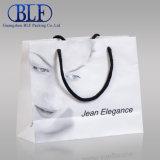 Custom Promotional White Paper Bag Printing Shopping