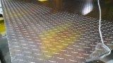 anti-slip aluminium plate with diamond pattern